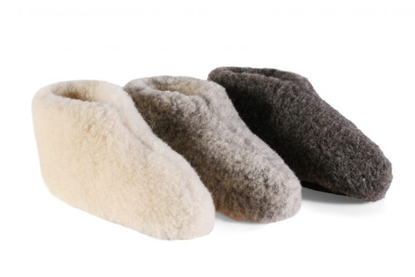 Woolwarmers Wollen Slof DOLLY 917 wit